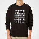 Marvel The Punisher Black Christmas Sweatshirt