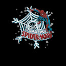 Marvel Comics The Amazing Spider-Man Snowflake Web Black Christmas Sweatshirt