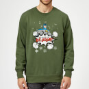 Pull de Noël Homme DC Comics Batman Be Good Or Kaboom - Vert