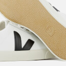 Veja Men's Esplar Leather Low Trainers - Extra White/Black