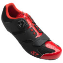 Giro Savix Road Cycling Shoes - Bright Red/Black