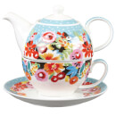 Collier Campbell Flowerdrop Tea for One Gift Set