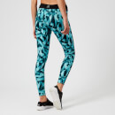 Reebok Women's CrossFit Tights - Turquoise