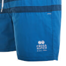 Crosshatch Men's Teesdale Swim Shorts - Estate Blue