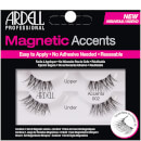 Ardell Magnetic Lash Natural Accents 002 False Eyelashes -magneettiripset