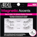 Pestanas Falsas Magnetic Lash Natural Accents 001 da Ardell