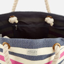 Joules Women's Summer Beach Bag - French Navy Stripe