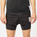 Satisfy Men's Short Distance 8 Inch Shorts - Black Silk