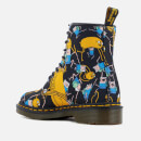 Dr. Martens Toddlers' Castel Character Canvas Lace Low Boots - Multi