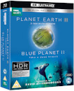 Planet Earth II & Blue Planet II Boxset - 4K Ultra HD