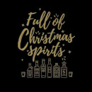 Full Of Christmas Spirits T-Shirt - Black