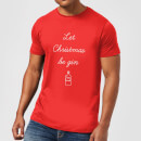 Let Christmas Be Gin T-Shirt - Red
