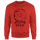 The Most Wonderful Time For A Beer Sweatshirt - Rot