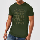 Let's Get Into The Christmas Spirits T-Shirt - Forest Green