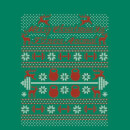 Merry Christmas Ya' Fitness Animal Sweatshirt - Kelly Green