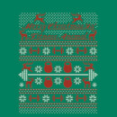 Merry Christmas Ya' Fitness Animal Women's T-Shirt - Kelly Green