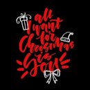 All i want for Christmas T-Shirt - Black
