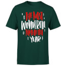 The Most Wonderful Time T-Shirt - Forest Green