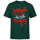 Jingle all the Way T-Shirt - Forest Green