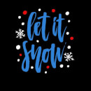 Let it Snow Women's T-Shirt - Black