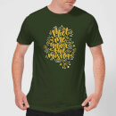 Meet Me Under The Mistletoe T-Shirt - Forest Green