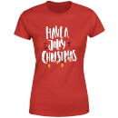 Have a Jolly Christmas Women's T-Shirt - Red