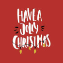Have a Jolly Christmas T-Shirt - Red
