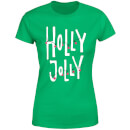 Holly Jolly Women's T-Shirt - Kelly Green