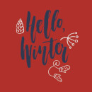 Hello Winter Sweatshirt - Red