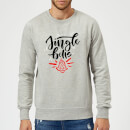 jingle Bells Sweatshirt - Grey