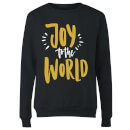 Joy to the World Women's Sweatshirt - Black
