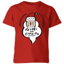 Santa is Coming Kids' T-Shirt - Red