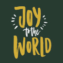 Joy to the World Sweatshirt - Forest Green