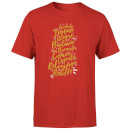 International Reindeer T-Shirt - Red
