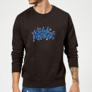 Kerstfeest Sweatshirt - Black