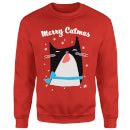 Merry Catmas Sweatshirt - Red