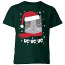 Ho Ho Ho Kids' T-Shirt - Forest Green