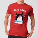 Merry Catmas T-Shirt - Red