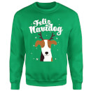 Feliz Navidog Sweatshirt - Kelly Green
