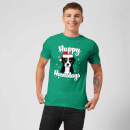 Happy Howlidays T-Shirt - Kelly Green