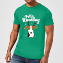 Feliz Navidog T-Shirt - Kelly Green