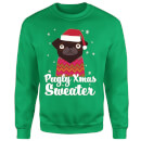 Pugly xmas Sweater Sweatshirt - Kelly Green