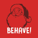 Behave! Women's T-Shirt - Red