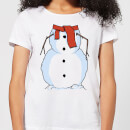 Snowman Women's T-Shirt - White