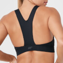 Racer Sports Bra - Black - XS - Black
