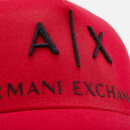 Armani Exchange Men's Logo Cap - Absolute Red