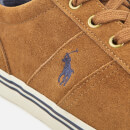 Polo Ralph Lauren Men's Hanford Vulcanised Suede Trainers - New Snuff