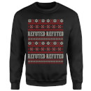 Refuted Christmas Sweatshirt - Black