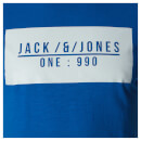 Jack & Jones Men's Core Pressed T-Shirt - Nautical Blue