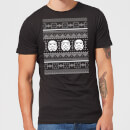 Star Wars Christmas Stormtrooper Knit Black T-Shirt